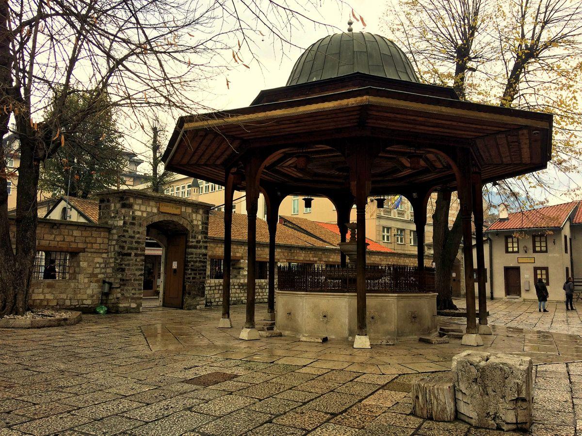 Szarajevó Gazi Husrev Bey dzsámi