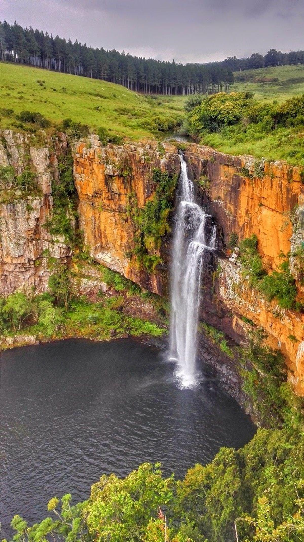 dél-afrikai köztársaság vízesés