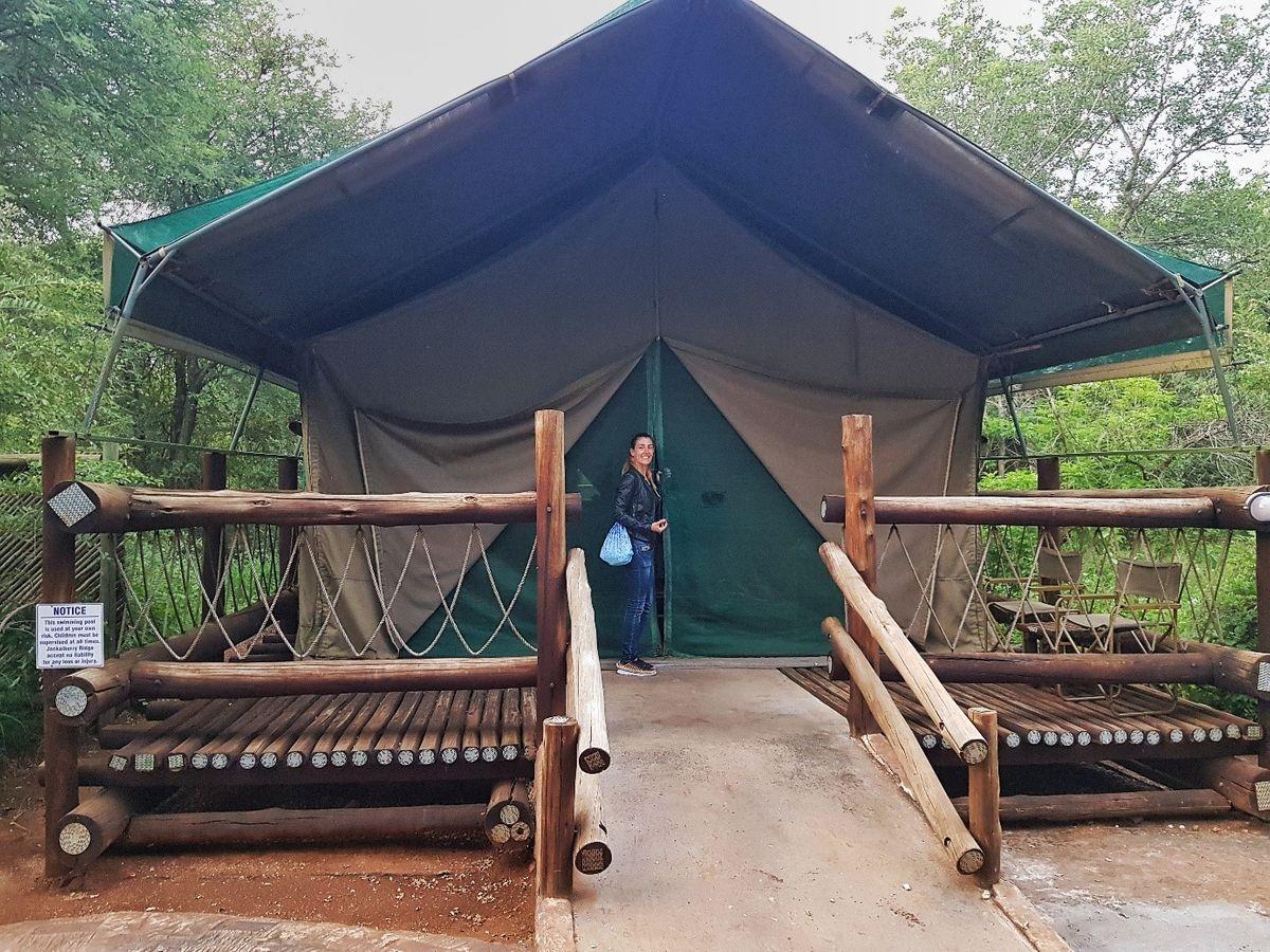 Marloth Park, sátorszállásunk Dél-Afrikai Köztársaság