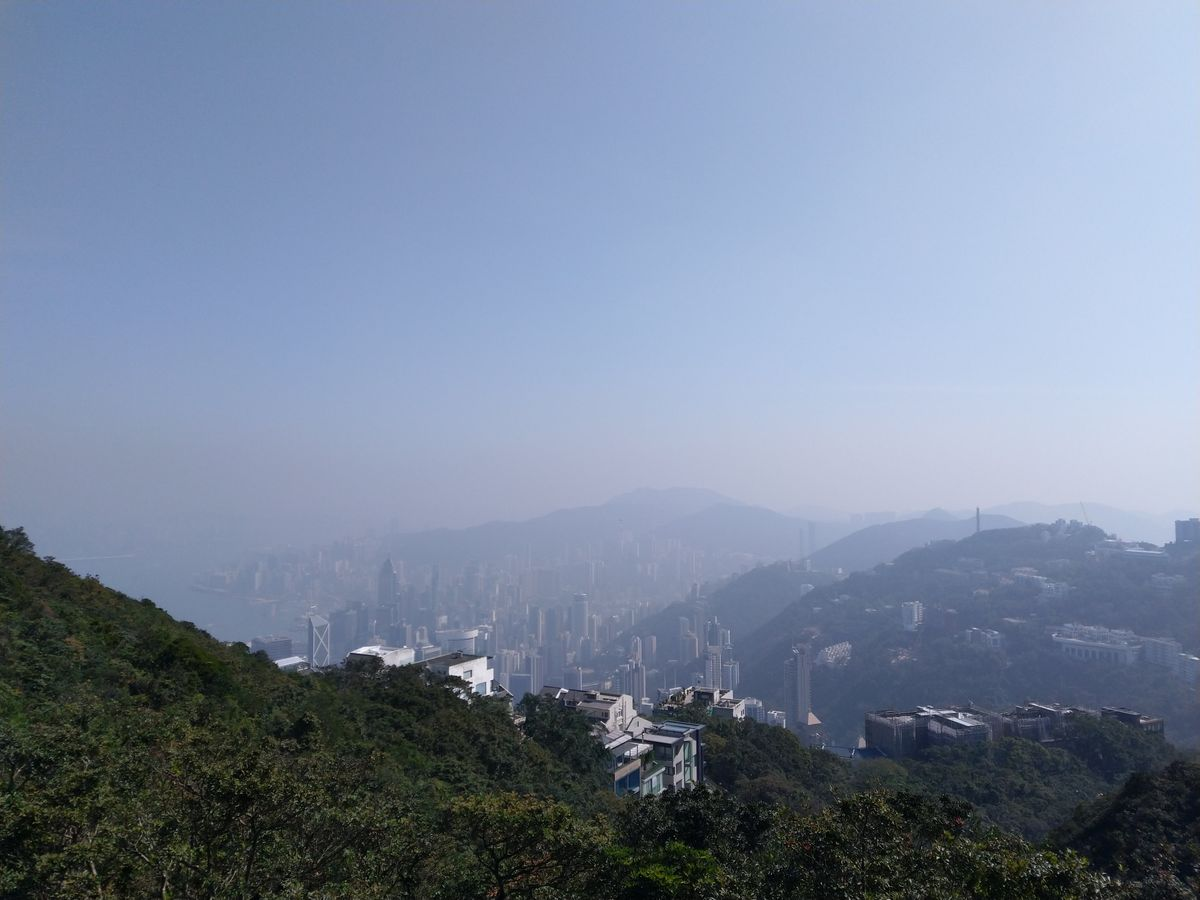 Hongkong látnivalók kilátás