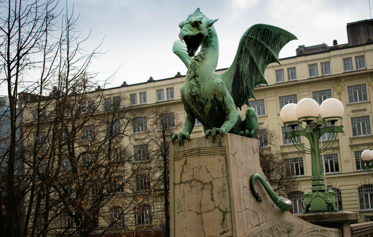 Ljubljana sárkány