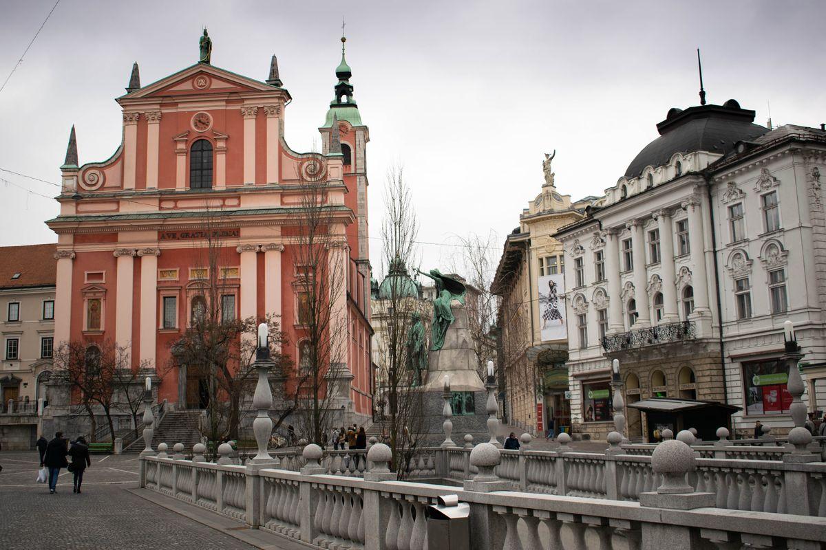 Ferences templom Ljubljana